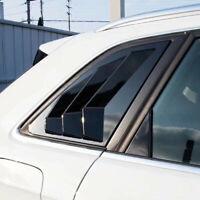 A3 Rear Window Fender Gloss Black Side Vent Shield for Audi A3 8V S3 Hatchback
