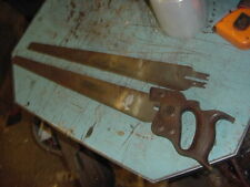 "VINTAGE ZENITH HAND SAW WOODWORKING DECOR 18"" 15 TPI MOORE BROTHERS RARE"