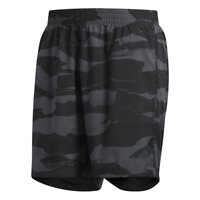 Adidas Men Shorts Essentials Print Climalite Camouflage Gray Running DQ2562 New