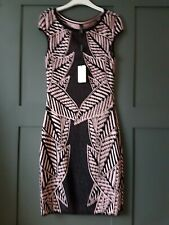 MARC CAIN Knitted Palm Dress RRP £285 N3 UK 12 EU 38 US 8