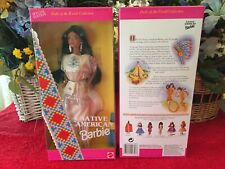 Barbie Native American 1st., Wholesale Lot of 6 Dolls, New, Mint, Nrf Shipping