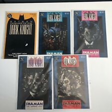 BATMAN: LEGENDS OF THE DARK KNIGHT 1989 #1-5 SHAMAN Bagged Boarded VF
