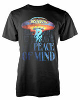 Official Boston T Shirt Peace of Mind Black Mens Rock Metal Unisex New