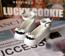 1/4 bjd MSD MDD minifee girl doll white color flat shoes dollfie dream