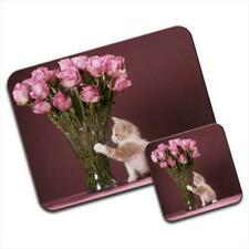 Kitty Love Mouse Mat / Pad & Coaster