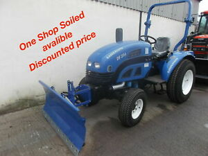 NEW Front-Mounted Snow Plough For Compact tractor (Shop Soiled)
