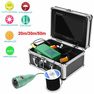 20-50m Underwater Fishing Camera 7in TFT LCD 1000TVL Monitor Video Fish Finder