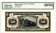 Mexico ... P S135a ... 50 Pesos ... D.1913 ... Choice *AU-UNC*.