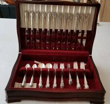 Rogers Wedding Bells Sterling Silver Flatware. 72 pieces. Service for 12.