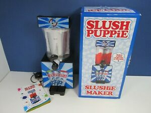 working SLUSH PUPPIE MAKER MACHINE frozen ice drink SLUSHIE SUMMER 4683