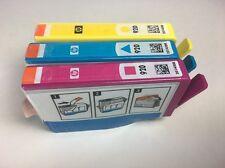HP 920 3 Pack Yellow Cyan Magenta Ink Cartridge Genuine Original