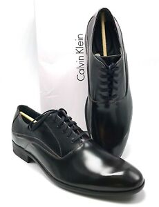 CALVIN KLEIN Men's Bordo Von Brush Off Leather Oxfords US SZ 10M - BRAND NEW!