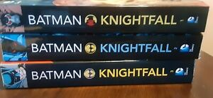BATMAN: KNIGHTFALL COMPLETE 3 VOLUME COLLECTION