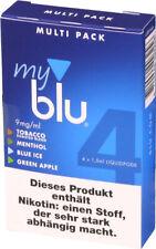 4x myblu MultiPack Pods 4-Sorten mit 9mg Nikotin myblu Schlüsselschutz