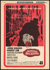 MURDERS IN THE RUE MORGUE__Original 1970 Trade AD / poster__GORDON HESSLER__1971
