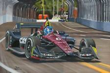 Canvas print Schmidt Peterson Motorsport Dallara Honda IndyCar #6 Robert Wickens