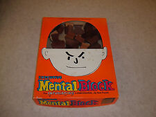 Vintage Executive Mental Block 3-Dimensional Jig Saw Puzzle(Solid Mahogany Wood)