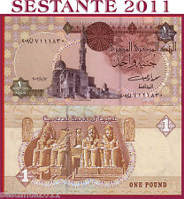 EGYPT / EGITTO - 1 POUND  12.8. 2003 sign. 20  - P 50f  -   FDS / UNC