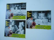 Lot of 3 Abominable Dr Phibes lobby cards Vincent Price horror monsters