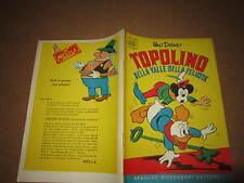 WALT DISNEY ALBO D'ORO N°17 TOPOLINO NELLA VALLE DELLA FELICITA' 1955