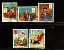 PARAGUAY #C770-C774  1989  OLYMPIC GOLD MEDAL WINNERS     MINT VF NH  CTO