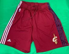 Authentic Adidas Cleveland Cavaliers NBA Basketball Shorts Men's SZ XL Maroon