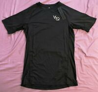 Vanquish Intensity Black Short Sleeved Compression T-Shirt L Large New With Tags