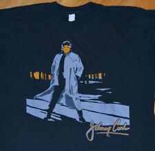 *1980's JOHNNY CASH* vintage concert tour tee t-shirt (L/XL) Rare Country Rock