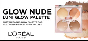 L'Oreal True Match Lumi Glow Nude Highlighter Palette ~ Choose Your Shade