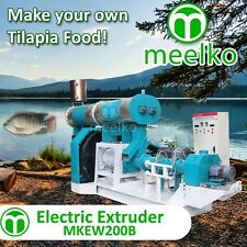 ELECTRIC EXTRUDER TO MAKE YOUR OWN TILAPIA FISH FOOD - MKEW200B (FREE SHIPPING)