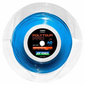 Yonex PolyTour Pro (blue) 1.20mm 17G Tennis String - 656ft 200m Reel