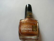 MAYBELLINE VERNIS A ONGLES FOREVER STRONG N° 830 ESPOIR DE BRONZE  NEUF