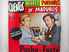 Pucho y Fuste    Cuentos  Verdes Pintones y Maduros LP