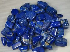 Huge lot of Lapis lazuli hand polish reiki healing stones 2 LB from Badkshan Afg