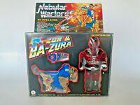 Vintage 1985 MOTU Bootleg Nebular Warlords Zor & Ba Zura Zoids in Box