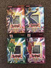 Yu-GI-Oh - Kaiba, Yugi, Joey & Pegasus Starter Deck - English Edition - Sealed