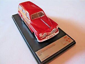 Premium X PRD 563 1949 Dodge Coronet Woody Wagon Bordeaux 1:43 New