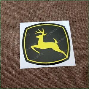 John Deere Leaping Deere Decal Fits Z225 Z245 Z425 46,47 Snowblowers JD5707