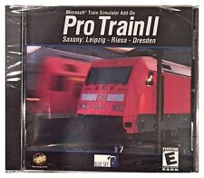 Microsoft Train Simulator Pro Train II 2 Pc New Sealed