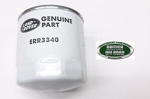 ERR3340 - LAND ROVER DEFENDER 300 TDI OIL FILTER - GENUINE