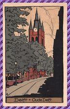 Carte Postale DELFT - Oude Delft