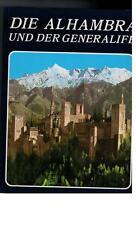 Ricardo Villa-Real - Die Alhambra und der Generalife - 1989