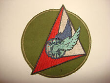 US Air Force 7th COMMAND & CONTROL Squadron BLUE CHIP Vietnam War Patch
