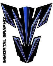 Suzuki GSXR  GSX-R 1000 750 600 Blue Black Tank Pad Protector