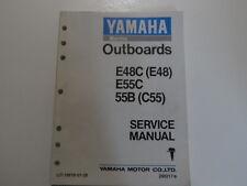 Yamaha Marine Outboards E48C E48 E55C 55B C55 Service Repair Shop Manual OEM X
