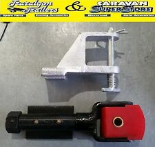 Heavy Duty Off Road Polyblock Coupling Hitch 2000kg Camper Trailer Caravan A22