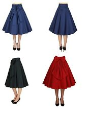 Retro Circle Skirt 1950's Plus Size 18 to 28 More Colours