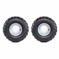Pair 19/7-8 19X7.00-8 19X700-8 19X7-8 Tire Rim Wheel UTV ATV Go Kart 200cc 250cc