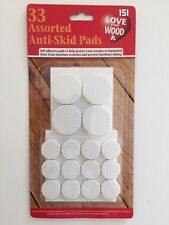 151 Love Your Wood, 33 Assorted Anti-Skid Pads