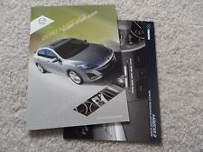 2010 Mazda 3   Quick Reference Guide Owners Manual SUPPLEMENT